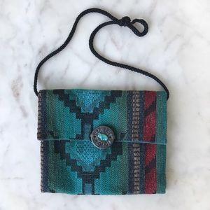 Woven Guatemalan Hippie Boho Crossbody Bag